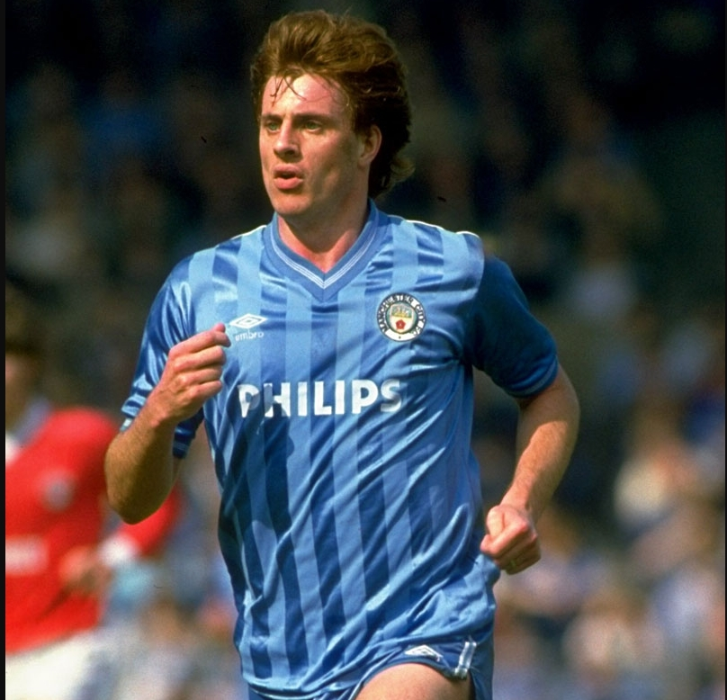 マンチェスター・シティユニホーム1984~85シーズン