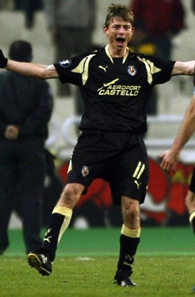 ビジャレアルセカンドユニホーム2007~2008シーズン